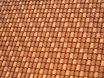 Roof Tiling Royalty Free Stock Photography