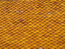 Roof tiling. Seamless texture Royalty Free Stock Photos