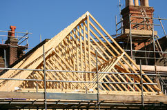 Free Roof Timber Frame Stock Photo - 3788110