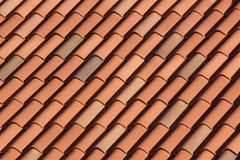 Roof Top. Red roof top Stock Photography