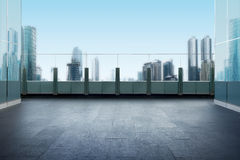 Free Roof Top Balcony With Cityscape Background Royalty Free Stock Photo - 74521395