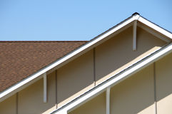 Roof Top Eaves Royalty Free Stock Photo