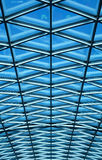 Roof top graphic pattern. Detail Royalty Free Stock Photo