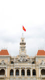 Roof top, ho chi minh city town hall, Vietnam Royalty Free Stock Photography