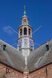 Roof top of the Nieuwe Kerk in Groningen Royalty Free Stock Photography