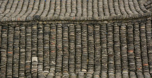 Roof top of the old house in Hunan, China Royalty Free Stock Image