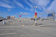 Roof Top Parking Royalty Free Stock Photography