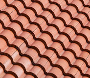 Roof top pattern Stock Photography