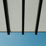 Roof top  sky blue Stock Photos
