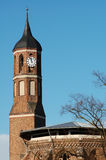 Roof top of St. Johannis church at Brandenburg an der Havel (Bra Royalty Free Stock Images