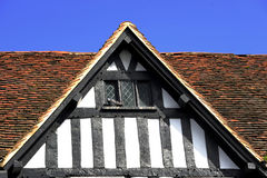 Roof top in Stratford upon Avon Stock Photography