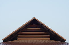 Roof top triangle Stock Photos