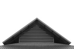 Roof top triangle Stock Photography