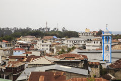 Roof top view of Stone Town Royalty Free Stock Photo
