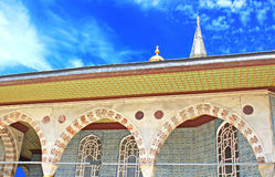 Roof of Topkapi Palace in Istanbul Royalty Free Stock Image