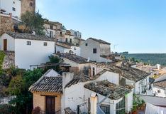 Roof tops of Cazorla Town Stock Photos