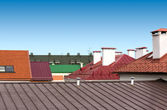 Roof tops Stock Photography