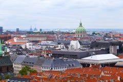 Roof tops of Copenhagen, Denmark Royalty Free Stock Photos