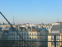 Roof tops Paris Royalty Free Stock Photos