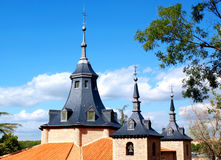 Roof and towers Royalty Free Stock Photography