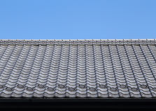 Roof of traditionally japanese Stock Photography