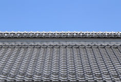 Roof of traditionally japanese Royalty Free Stock Image