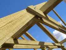 Roof truss Royalty Free Stock Photography