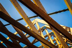 Truss royalty free stock images