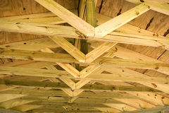 Roof and Trusses Royalty Free Stock Image