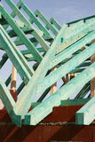 Roof trusses 3 Stock Photography
