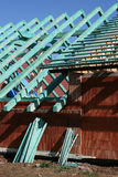 Roof trusses 5 Stock Images