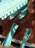 Roof trusses 6 Stock Images