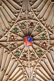Roof of the Tudor Great Hall at Hampton Court Stock Images