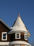 Roof Turret. The turret like structure on the top of a house Stock Image