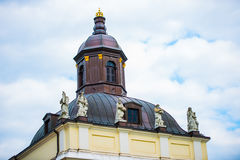 roof with turret in Berlin Royalty Free Stock Image
