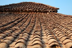 Rural Indian hut Royalty Free Stock Photos