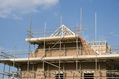 Roof under construction Stock Photography