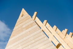 The roof is under construction Royalty Free Stock Image