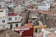 Roof of Valencia, Spain Stock Photo