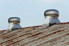 Roof ventilation Royalty Free Stock Photography