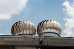 Roof Ventilation Royalty Free Stock Images
