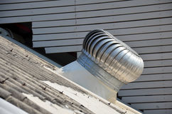Roof Ventilator or air blower Stock Photo