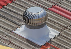 A roof ventilator. Stock Photos