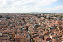 Roof Verona. Verona- city in northeastern Italy, the population - 260,135 people Stock Image
