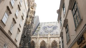Roof of the Vienna Cathedral royalty free stock image
