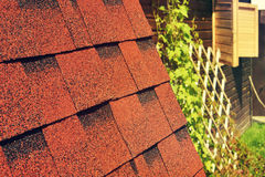 Roof of a village Royalty Free Stock Images