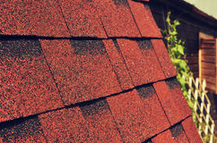 Roof of a village Royalty Free Stock Photo
