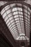 Roof of Vittorio Emanuele Shopping Gallery Royalty Free Stock Image