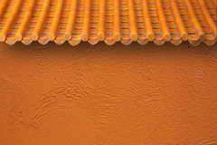 Roof and wall Royalty Free Stock Image