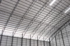 The roof of warehouse. Royalty Free Stock Images